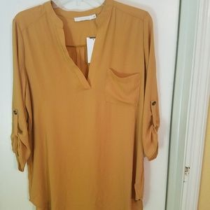Lush Tops - Tunic, 3/4 length sleeve Tunic